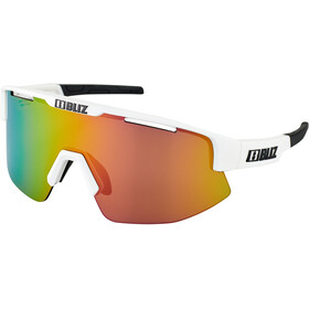 Bliz Matrix M12 Glasses matt white /brown with purple multi